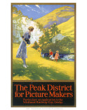 The Peak District for Picture Makers, MR, c.1930s Poster
