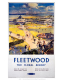 Fleetwood, The Floral Resort, BR (LMR), c.1948-1965 Posters