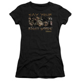 Juniors: Labyrinth-Say Your Right Words T-Shirt