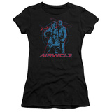 Juniors: Airwolf-Graphic Shirt