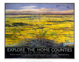 Explore the Home Counties, LNER, c.1936 Poster
