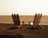 Adirondack Chairs I Prints by Alan Hausenflock