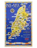 Isle of Man, BR (LMR), c.1955 Print