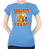 Juniors: Garfield-Sarcasm T-Shirt