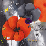 Poppies Prints by Aurélie Pfaadt