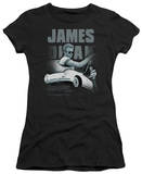 Juniors: James Dean-Immortality Quote T-shirts