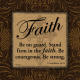 Faith Posters by Todd Williams