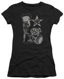 Juniors: Betty Boop-With The Band Shirts