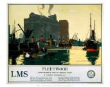 Fleetwood, LMS, c.1923-1945 Posters