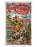 Ascot Races, GWR, 1897 Art