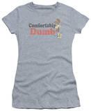 Juniors: Garfield-Comfortably Dumb T-shirts