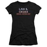 Juniors: Law & Order SVU-Logo Shirts