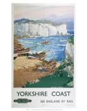 Yorkshire Coast, BR, c.1948-1965 Prints