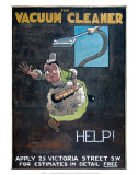 Help!, promoting the British Vacuum Cleaning Company Ltd, c.1906 Poster