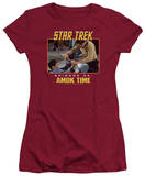 Juniors: Star Trek Original-Amok Time T-Shirt