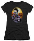 Juniors: Betty Boop-Wild Biker T-shirts