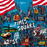 Times Square 5th Avenue Prints by Sophie Wozniak