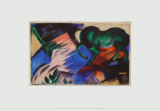 The Green Horse, c.1912 Prints by Franz Marc