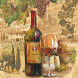 Récolte toscane Posters par Gregory Gorham