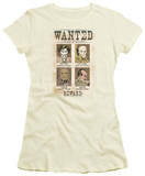 Juniors: DC-Wanted Poster Shirts
