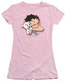 Juniors: Betty Boop-Wink Wink T-shirts