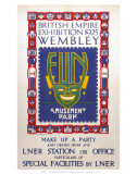 British Empire Exhibition, LNER, c.1925 Poster