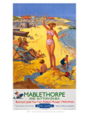 Mablethorpe and Sutton-on-sea, BR, c.1950s Prints