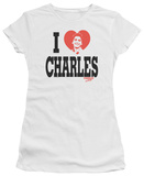 Juniors: Charles in Charge-Heart Shirts