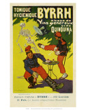 Byrrh Tonique Hygenique versus Absinthe, c.1903 Posters