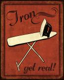 IJzer Poster van N. Harbick