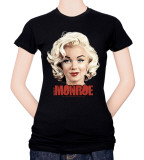 Juniors: Marilyn Monroe-Comic Shirt