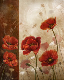 Wild Poppies I Posters by Conrad Knutsen