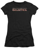 Juniors: Battle Star Gallactica-Logo T-Shirt