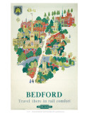 British Railway, London Midland Region, Bedford Prints