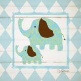 Elephants Art by Sylvia Murray