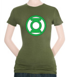 Juniors: Green Lantern-Lantern Logo T-Shirt