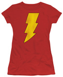Juniors: DC-Shazam Logo Distressed Camisetas