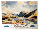 Loch Etive, Western Highlands, BR(ScR), c.1948-1965 Prints