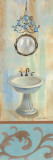French Bathroom in Blue II Poster by Silvia Vassileva