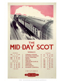 The Mid-Day Scot, BR, c.1950 Posters