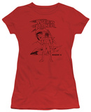 Juniors: Speed Racer-Racer X Distressed T-Shirt