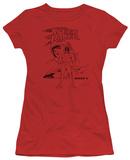 Juniors: Speed Racer-Racer X Distressed T-Shirt
