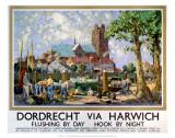 Dordrecht via Harwich, LNER, c.1934 Art