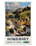 Somerset, BR (WR), c.1948-1965 Print