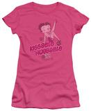 Juniors: Betty Boop-Kissable Huggable Shirt