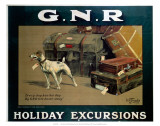 Holiday Excursions, Every Dog Has His Day, GNR, c.1913 Poster
