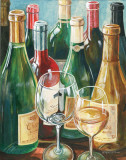 Wine Reflections II Prints by Gregory Gorham