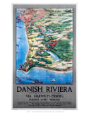 Danish Riviera via Harwich/Esbjerg, LNER, c.1923-1947 Posters