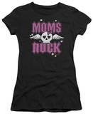 Women's: Moms Rock (Slim Fit) T-shirts