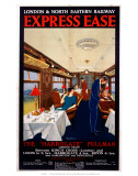 Express Ease, LNER, c.1923-1930 Posters by George Harrison